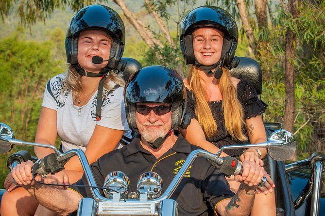 Experience the open road on a Trike. The beautiful scenery around the 1770 area or get off the beaten track and enjoy a locals experience.