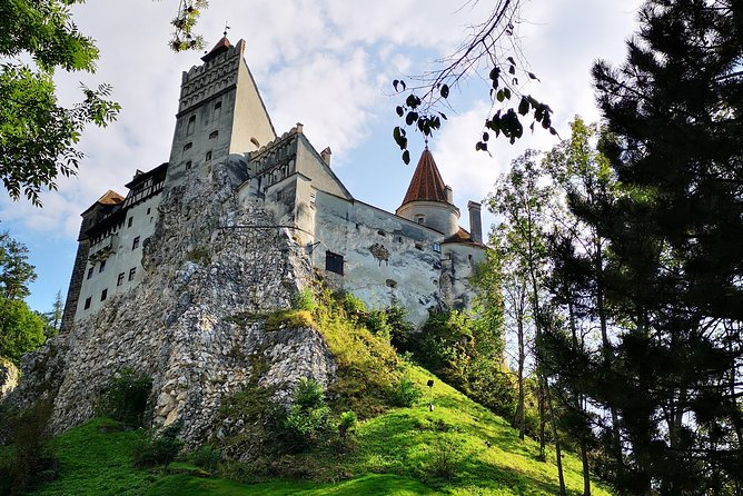 "Comfortable shared tour, explore Transylvania with a young and eager English speaking local guide in this one day tour: Peles Palace in Sinaia, Bran ""Dracula"" Castle and Brasov city. Eight seats minivan (never bigger), hotel pick-up and drop-off included!"