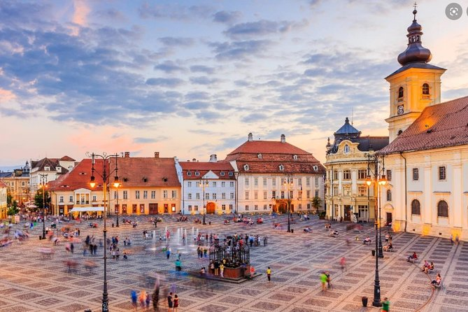 """Sibiu is the only Romanian city to be bestowed on, in 2011, three stars in """"Michelin Green Guide"""". <br><br>Sibiu was the largest and wealthiest of the seven walled citadels* built in the 12th century by German settlers known as Transylvanian Saxons. <br><br>The riches amassed by its guilds paid for the construction of both impressive buildings and the fortifications required to protect them.<br><br>Sibiu's Old Town retains the grandeur of its earlier days when rich and powerful guilds dominated regional trade. <br><br>Like Sighisoara and Brasov, it has a distinctly Germanic feeling. Sections of the medieval wall still guard the historic area, where narrow streets pass steep-roofed 17th century buildings with gable overhangs before opening into vast, church-dominated squares such as Great Square and Little Square.<br>"""