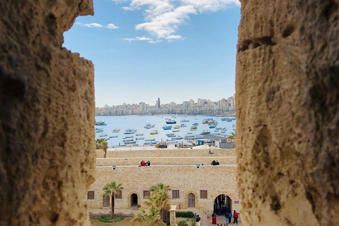 Visit Italian Cemetery of El Alamein.<br>Visit the catacombs of Kom el Shoqafa.<br>Visit The Roman Amphitheatre.<br>Get a photo stop at (Qaitbay's Citadel). <br>Visit the Royal Jewellery museum.<br>Have Chance to take a photo for library of Alexandria.<br>Visit prettiest and biggest mosque in the city (Abu Al-Abbas Al-Mursi)<br>