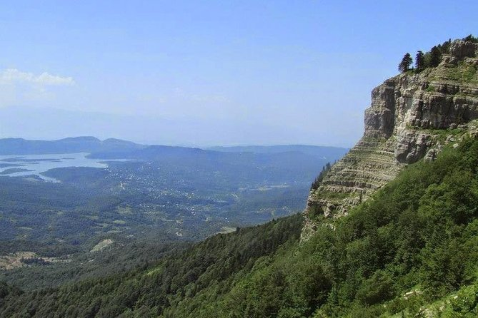 """If you are tired of seeing too many touristic places in Georgia, come with us for the hike off the beaten track! We will explore together the wild Tsutskhvati cave and hike to Tskhrajvari """"Nine crosses"""" mountain."""
