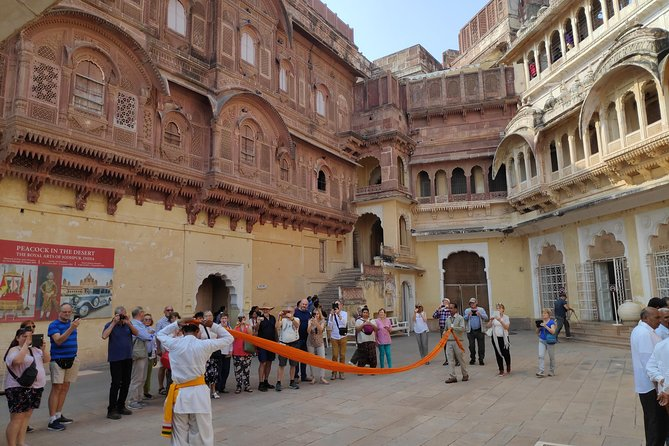 """Jodhpur , nicknamed India's """"Blue City"""" Because of all Blue painted house in walled city. jodhpur's main attraction is famous fort Mehrangarh which awarded by UNESCO and royal palaces is India's last largest palace. city's top attractions in a single day on this private chauffeured visit."""