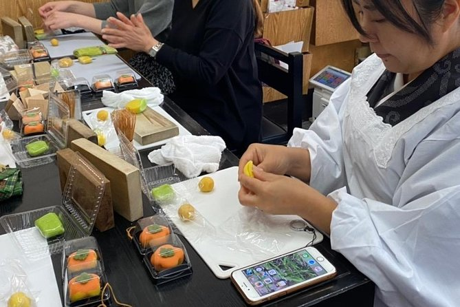 Learn How to Make Beautiful and Delicious Wagashi Sweets in Tokyo, Tokyo, JAPAN