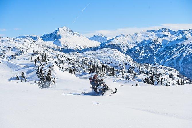 Whistler Wilderness Snowmobile Run, Whistler, CANADA