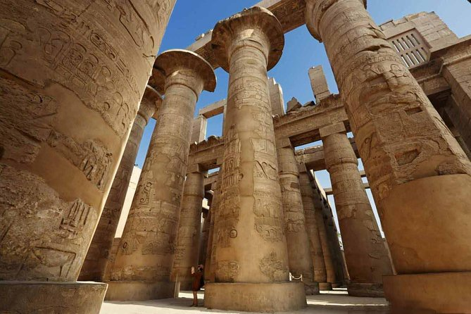 Enjoy a guided 2 day trip to Luxor from Safaga Port where you will visit the Luxor temple, Karnak temple, then check into a five-star hotel. Next day enjoy a tourto Valley of the Kings, Hatshepsut temple, Colossi of Memnon then we drive you back to Safaga Port.