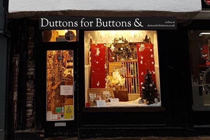 Duttons for Buttons' Heritage Needlecraft Workshops, York, INGLATERRA