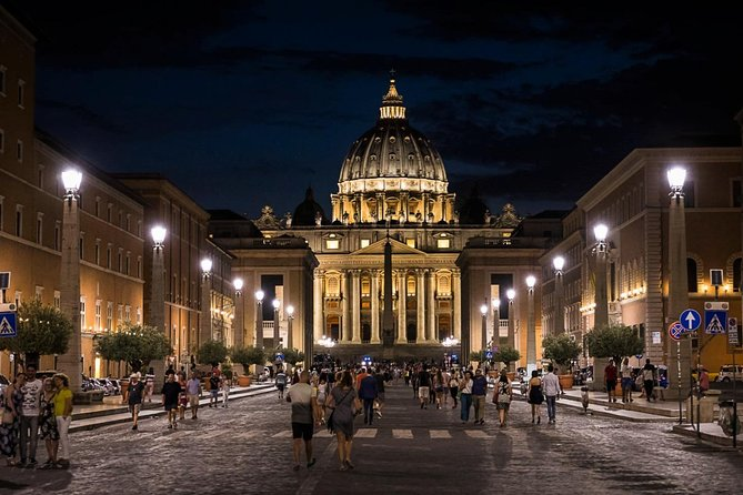 Our Vatican Night Tour is a unique chance for you to explore the wonders of the Vatican Museum and Sistine Chapel far from the tourist crowds, in a fun and relaxing way.<br><br>You'll take advantage of our priority access to enter the Vatican Museums and breathe in all of its magic with no hassle. And nighttime!<br><br>Relaxed pace and personal attention are guaranteed as this tour is designed for mini groups of up to 8 people.<br><br>​By wandering in company of a great local guide on a pleasant 2-hour journey, you'll discover all the secrets about the favored artists of Renaissance and Baroque Popes.<br><br>​Raphael, Perugino, Botticelli and Pinturicchio are just some of the finest Italian painters you'll meet on your tour between the halls of the Vatican Museums and the Sistine Chapel, where you'll finally admire the breathtaking Giudizio Universale by Michelangelo.<br><br>Ready for a special Vatican adventure? Book your tour now!