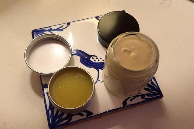 Make your own natural skin care products with local plants, Ibiza, ESPAÑA