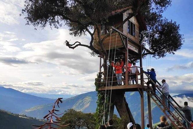 Pailon Del Diablo, Casa Del Árbol y Tours Nocturno Tres Actividades en Un Día, Baños, ECUADOR