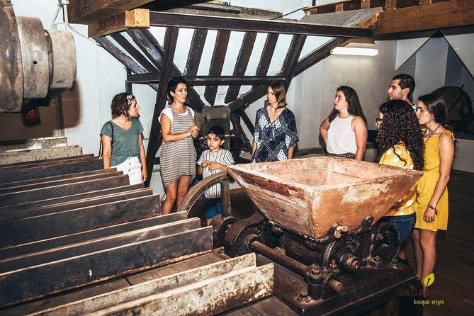 Sidrería tradicional con visita guiada, menú y transporte, San Sebastian, ESPAÑA