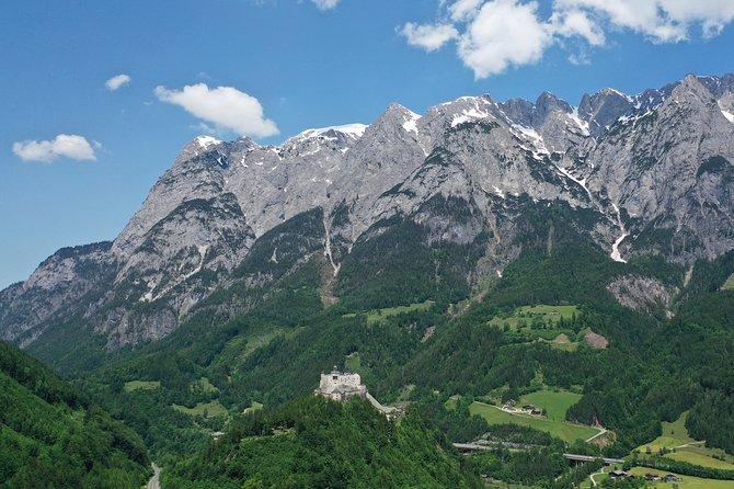 Eagle's Nest and 'The Where Eagles Dare Castle' of Werfen, Salzburgo, AUSTRIA