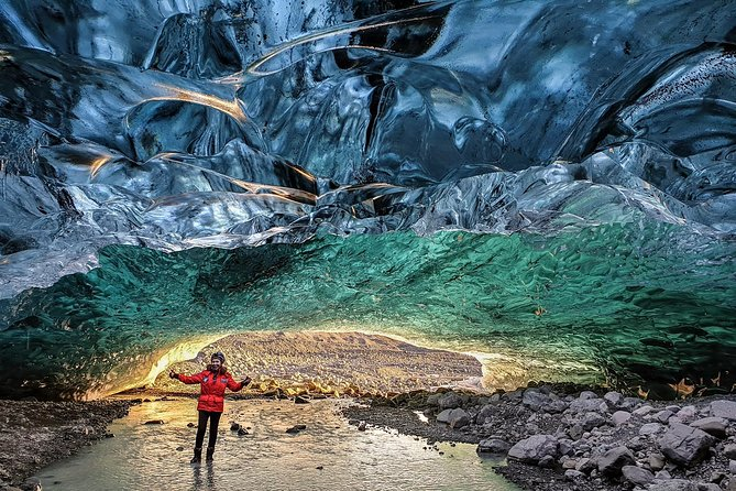 Experience a spectacular ice cave and get a dazzling view of the beautiful blue formations inside of Vatnajökull, the largest glacier in Europe. This 2.5- to 5-hour guided tour offers a truly memorable Icelandic experience and plenty of photo opportunities.