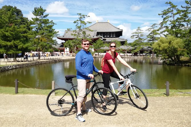 Join the highlights Tour at Nara Cycle Tours and meet other travelers, or do it in private and your guide can make this day special for your own group.