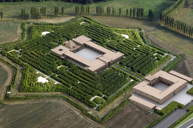 An exclusive night at the labyrinth-museum, in Parma countryside, Parma, ITALIA