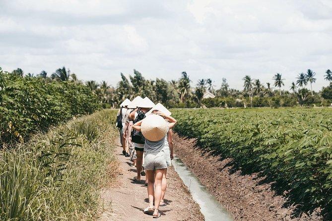 Experiencia en lancha motora para grupos pequeños en el delta del Mekong, Ho Chi Minh, VIETNAM