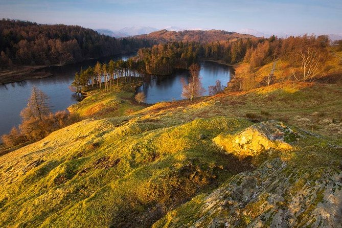 Explore the UNESCO World Heritage Site, the Lake District on this 2-day experience from Manchester, including hotel or guesthouse accommodation. <br>Travel by train from Manchester to Oxenholme (please note this is unaccompanied), where you will be met by one of our friendly driver guides and taken on our Beatrix Potters Favourite Countryside Tour.<br><br>Enjoy the afternoon exploring the Southern Lake District National Park including the medieval village of Hawkshead, the natural beauty spot of Tarn Hows & Coniston.<br><br>On day two join our Ten Lakes Spectacular Tour which visits Buttermere, Borrowdale Valley including Ashness Bridge & Suprise View, the market town of Keswick, 4000 year old Castlerigg Stone Circle and the famous village of Grasmere.<br><br>One night accommodation and return 2nd-class train tickets from Manchester.<br><br>Two tours of the Lake District in a luxury Mercedes mini-coach