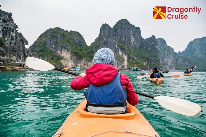 Full-Day Halong Islands, Cave, Kayak. Lunch. NATIONAL HIGHWAY Transfers, Halong Bay, VIETNAM