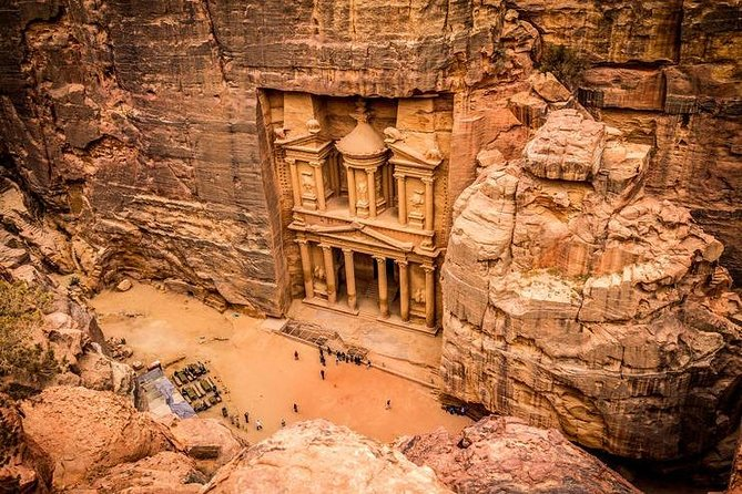 Petra Round Trip from Ma'in Hot Spring Hotel, Petra, JORDANIA