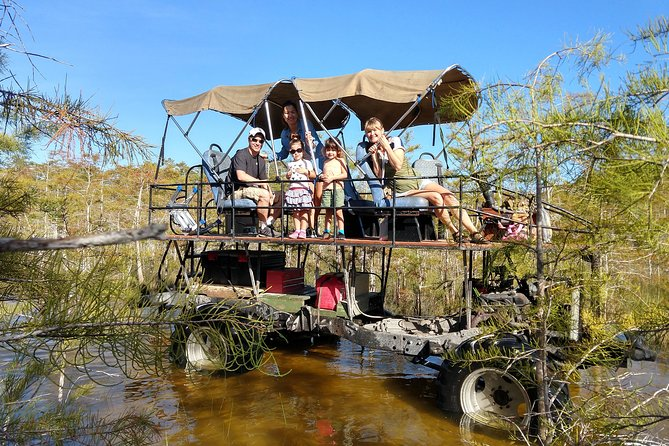 MORE PHOTOS, Family Fun Everglades Swamp Buggy Tour.