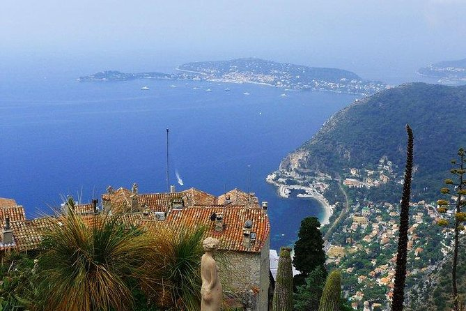 On this 7 to 8 hours, shared excursion tour with a licensed guide, you'll be able to enjoy the spectacular scenery of the sea and three different city from the heights point of Villefranche. In Eze, get a free guided visit to a perfume factory & discover this amazing village. In Monaco, discover the Prince's Palace, the circuit of Formula 1, and  Monte-Carlo Square. You need comfortable shoes.