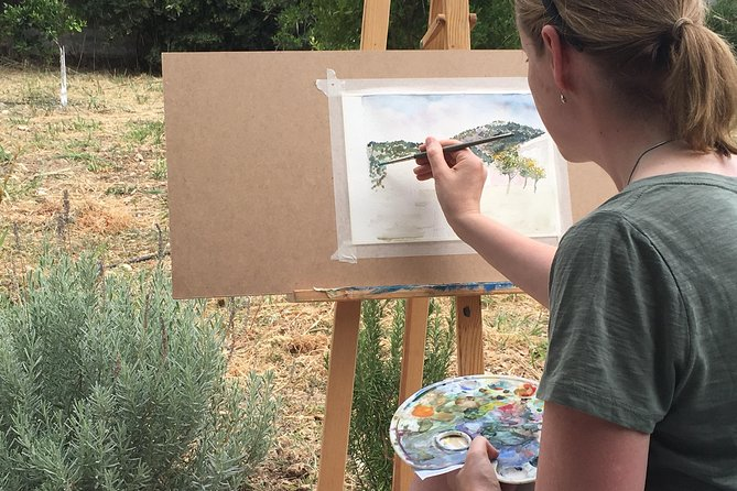Painting Holidays in Cephalonia, Greece at MetaxArt 7 Days Workshops Summer, Cefalonia, Greece