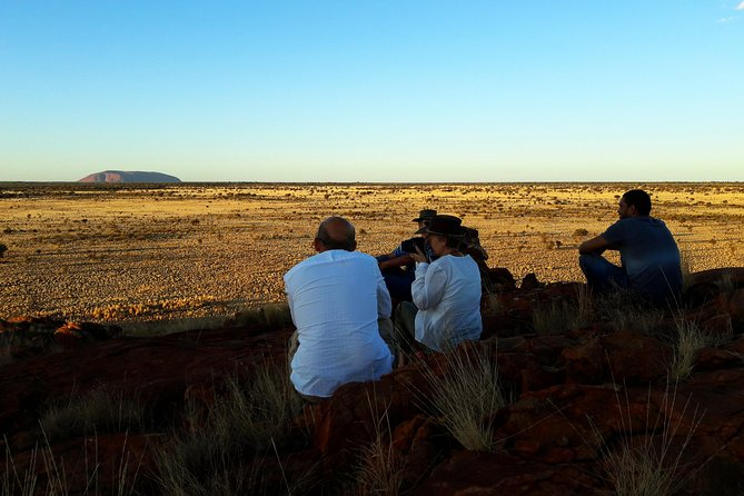 Aboriginal Homelands Experience from Ayers Rock including Sunset, Ayers Rock, AUSTRALIA