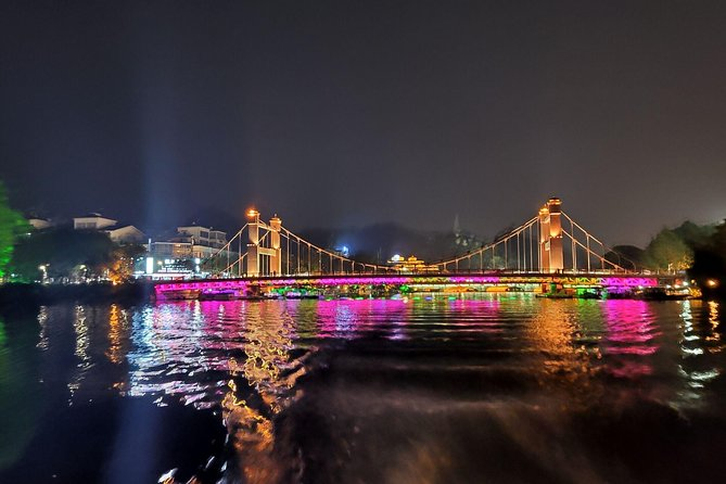 Guilin Four lakes night cruise with the English speaking driver from Guilin hotel, Guilin, CHINA