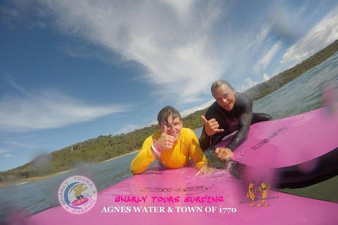 Surf Lessons! Beginner -> Advance, Agnes Water, AUSTRALIA