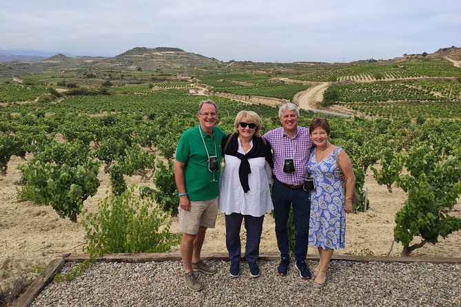 La Rioja two wineries visit with tasting and tapas in small group tour, Pamplona, Spain