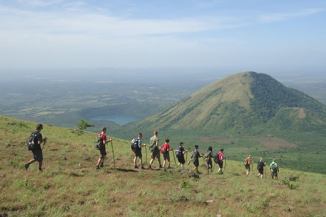 El Hoyo Volcano Hike with two craters, one fumarole and great panoramic views, Leon, NICARAGUA
