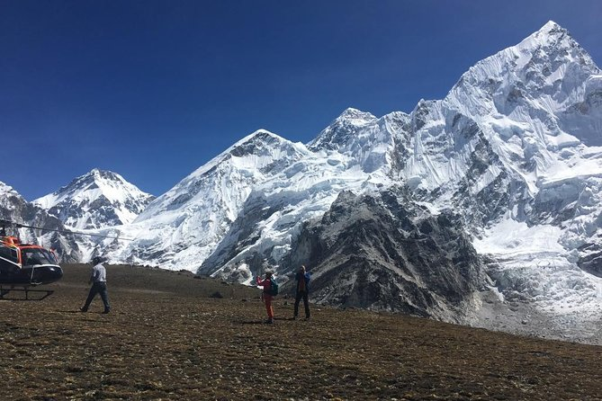 Everest Base Camp Helicopter Group Flight Tour with Breakfast at Everest, Katmandu, Nepal