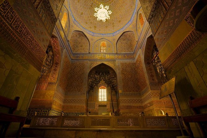 Here you will find wonderful historical monuments, as well as unique architectural decorations and information about the descendants of Timurids with a very long history.