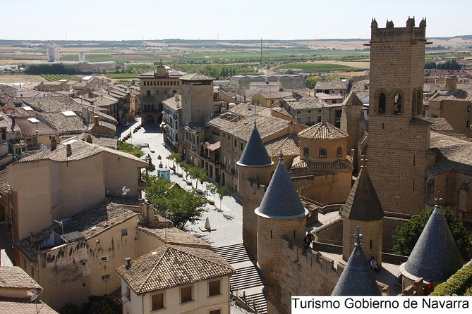 Visit Olite Royal Palace and Ujue medieval village in small group tour, Pamplona, ESPAÑA