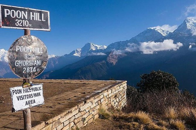 3 Days Poonhill Trek from Pokhara is quick and easy trek at the outskirts of Pokhara City into the Annapurna region. The prime highlight is hike to Poon Hill, the most popular Himalayan viewpoint, from where one can witness early sunrise over the Himalayas at the world's highest peaks like Annapurna range, Dhaulagiri including Mt. Fishtail.