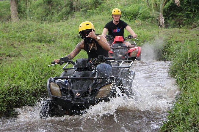 This is the best Quad Bike Ride Adventure in Bali or ATV Ride Experience. You will enjoy the trek that is exotic and fun, the natural environment is gorgeous and a picturesque panorama. You will get an amazing experience riding on Quad Bike at challenging track along the rice fields, jungle, rivers, and a natural Bali traditional village. It's safe and suitable for a beginner or a professional.<br><br>Option to including Bali Swing Active Package also available which is the first and the biggest place to do swing activities and lots of selfie spot for your Instagram or any social media. Get your unlimited swing experience and thousand amazing photos now!<br><br>This is the best choice for you who looking for Bali Things To Do, Bali Quad Bike, Bali ATV Ride, and Bali Adventures.