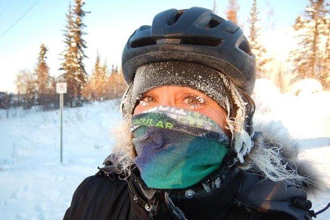 Winter Guided Fat Bike Tour, Yellowknife, CANADA
