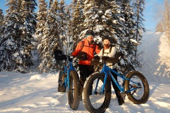 Fat Biking is the best way to discover the sights, smells and vistas of Yellowknife! These bikes with large 5 inch wide tires allow the rider to cycle over rough terrain more easily. They also provide greater comfort, safety and traction over rock, sand, snow and ice.<br><br>This tour is your opportunity to see not only the popular attractions of Old Town but also some of the unique and lesser traveled wild places. Many customers say their fat bike tour was one of their best and most exciting experiences while visiting Yellowknife.