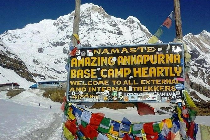 The trek to the Annapurna Base Camp is considered one of the most sought out trekking trails in the Annapurna region. En-route trekking, one can witness breath-taking views of the snow-capped peaks like Mt. Annapurna (8019m) which is the 10th highest mountain in the world, Gangapurna (7454m) Machhapuchhre (6999m) and other adjacent peaks.<br><br>The Annapurna trekking trail is rated one of the best in the world and trek into the Annapurna region is a different kind of experience in its lush green terrains, high mountain settlements, hidden valleys, and raging rivers. The prime feature of the trek is to reach the Annapurna Base Camp located at 4,130 meters above sea-level.<br><br>The base camp of Mt. Annapurna provides a spectacular panorama of Mt. Annapurna including other snow-capped peaks of the Annapurna region.