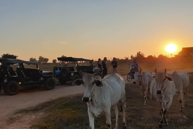 Countryside Sunset Jeep Tour, Siem Reap, Cambodia