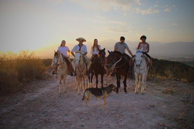 Horseback riding and a barbacue, Mendoza, ARGENTINA