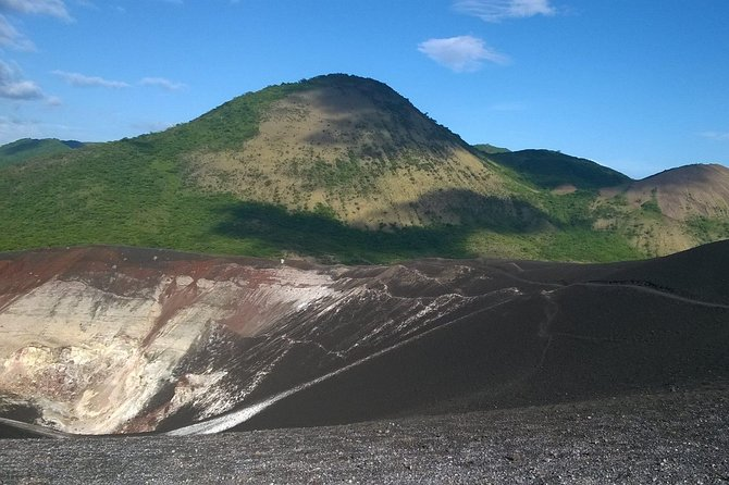 Volcano Boarding in first class, Leon, NICARAGUA
