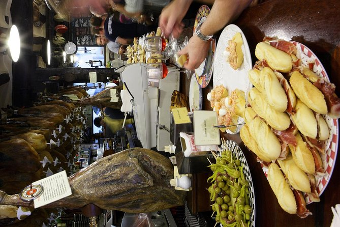 Pamplona pintxo tasting paired with Spanish wines small group tour, Pamplona, Spain