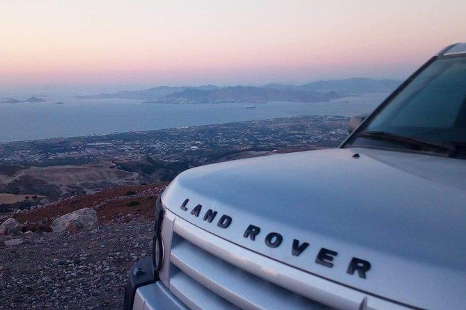 Uncharted Escapes: Land Rover Sunset Safari Kos, Cos, GRECIA