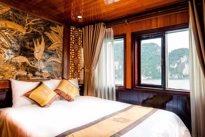 Bai Tu Long boutique & budget cruise 2D: Kayaking, swimming at pristine palaces, Halong Bay, VIETNAM