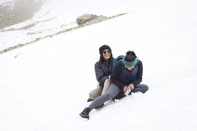 Hikking al Glaciar de Charquini y Laguna Esmeralda, La Paz, BOLIVIA