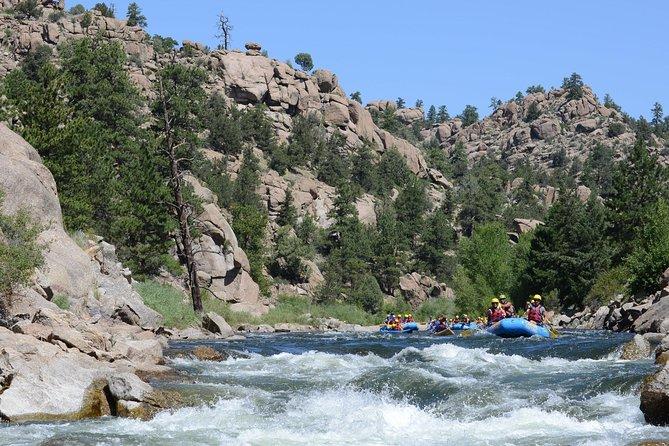 Browns Canyon Whitewater Rafting Half-Day Trip, Buena Vista, CO, ESTADOS UNIDOS