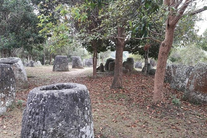 8:30am-12:00pm, visit Plain of jar site 1,2,3<br>1:30pm, visit Ban naphia spoon village<br>3:00pm, visit Former capital of phonsavan Wat phia wat temple, That foun stupa<br><br>