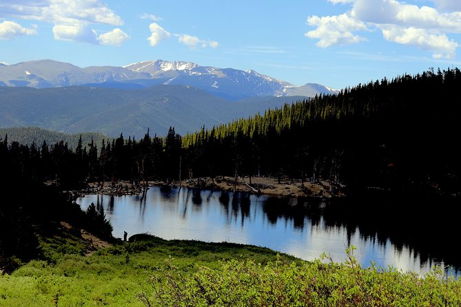 (St. Mary's Glacier)<br>Join us on a hike up to St. Mary's Glacier all year round. We will ascend through the stunning Colorado forest and end with a breathtaking panoramic lake view.<br><br>(Beau Jo's Pizza)<br>Afterwards we will eat lunch at Beau Jo's, which has been around since 1880 and is one of Colorado's hidden gems. Idaho Springs has a population of 1,717 people and is a gold mining town founded in 1859 during the Gold Rush. <br><br>(Indian Hot Springs)<br>Next we visit another historic landmark and soak in the natural geothermal cave pools, which will be perfect for our muscles after our hike and is included with the price. <br><br>Due to COVID, access to the caves and pool will be limited to a max of 10 at a time. Caves are on a first come first served basis. Please let me know in advance if you and your party would like a private bath or jaccuzzi and I will book it for you, otherwise there may be a long wait.<br><br>If you want an experience with little risk and a whole lot of reward, this tour is for you.<br>
