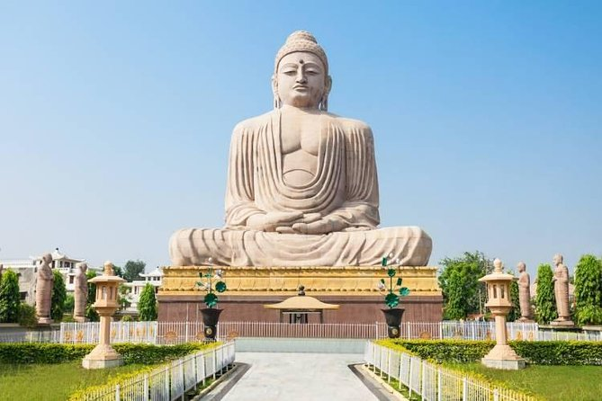 This is a very unique tour in which you will be able to follow the footsteps of lord Buddha and experience the various teachings and places associated with the life cycle of the Lord. This tour provides you the total comfort and privacy with all meals in Local restaurant serving Chinese, Japanese, Thai, Indian and Continental Cuisine. The tour covers all the expenses incurred during the monument visit and other state taxes.<br><br>• Money-back Guarantee.<br>• 100% Guest Satisfaction Assured. <br>• Includes All Entrance Tickets. <br>• Rush free and Comfortable Tour Itinerary.<br>• All tour carried out by Government Approved Guide with In-depth knowledge of <br> History.<br>• Traditional Indian Souvenir at Departure.