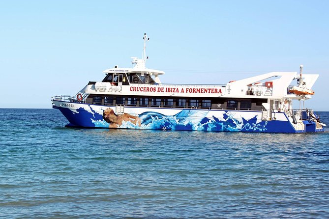 Formentera Daytrip return , Fast ferry from Playa den Bossa, Ibiza, ESPAÑA